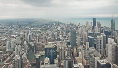 Vibrant City of Chicago